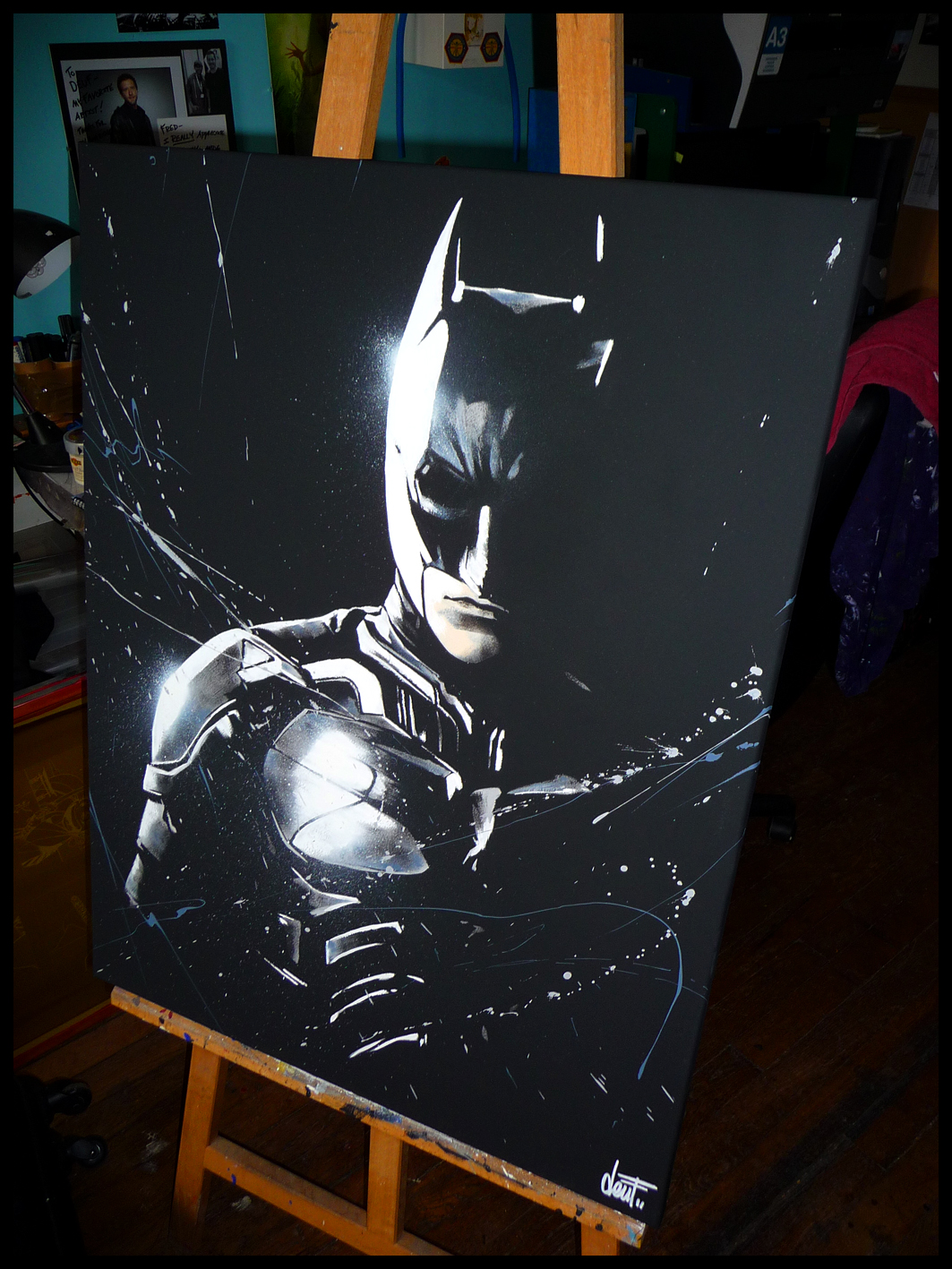 Batman carre a 1