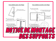 Logo notice montage taille