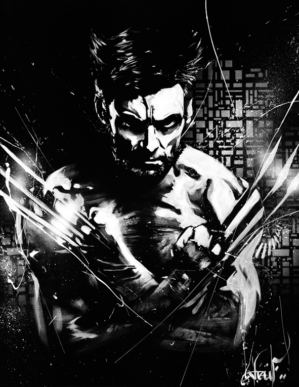 Wolverine face a